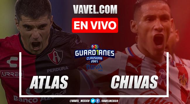 Goles y Resumen del Atlas 0-1 Chivas, Jornada 1 Liga MX 2021