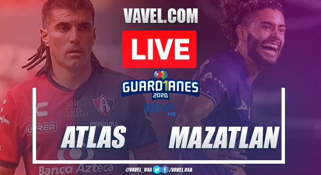 Goals and highlights: Atlas 1-1 Mazatlán in 2020 Liga MX Guard1anes