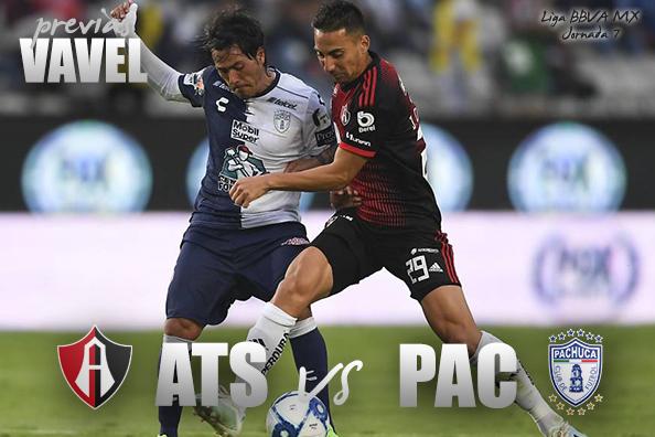 Previa Atlas - Pachuca: Ganar para escalar en la tabla
