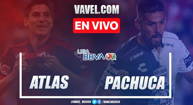 Goles y resumen: Atlas 0-2 Pachuca en Clausura 2020