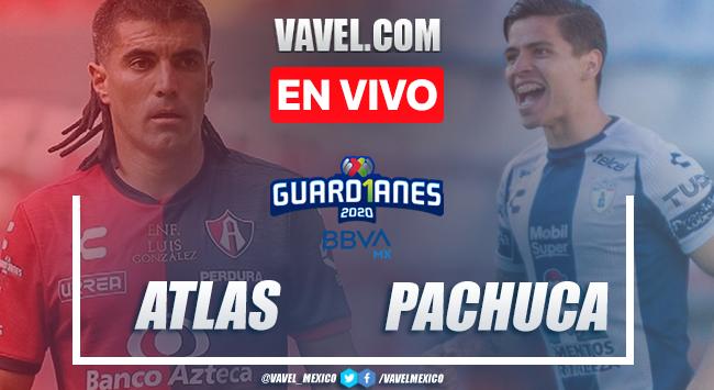 Gol y resumen: Atlas 0-1 Pachuca en Liga MX Guard1anes 2020