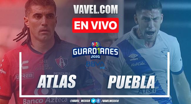 Goles y resumen: Atlas 0-1 Puebla en Liga MX Guard1anes 2020