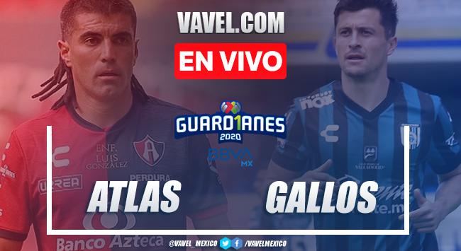 Gol y resumen: Atlas 1-0 Querétaro en Liga MX Guard1anes 2020