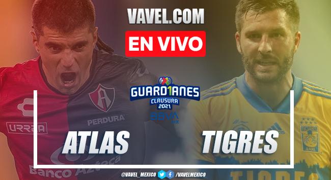 Resumen y goles: Atlas 0-2 Tigres en Liga MX Guard1anes 2021