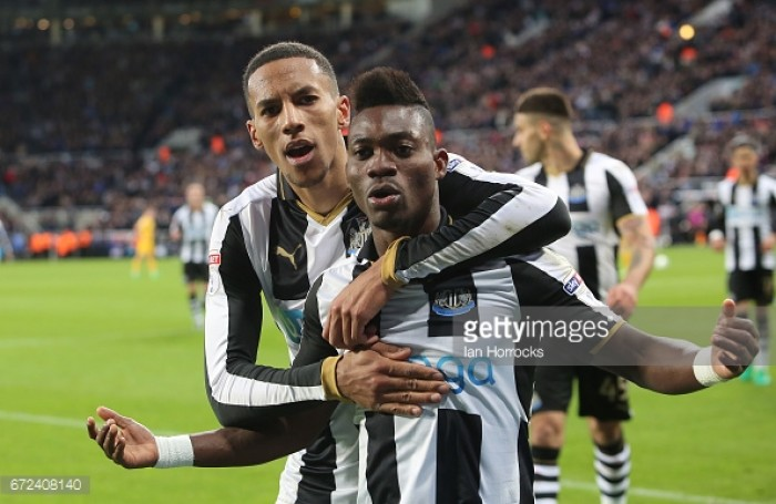 Newcastle United still debating whether to offer Christian Atsu a permanent deal