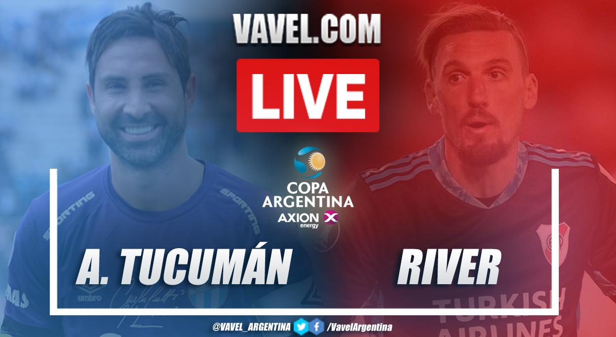 Resumen Atlético Tucumán vs River Plate (1-2) en los 16vos de final por Copa Argentina 2021