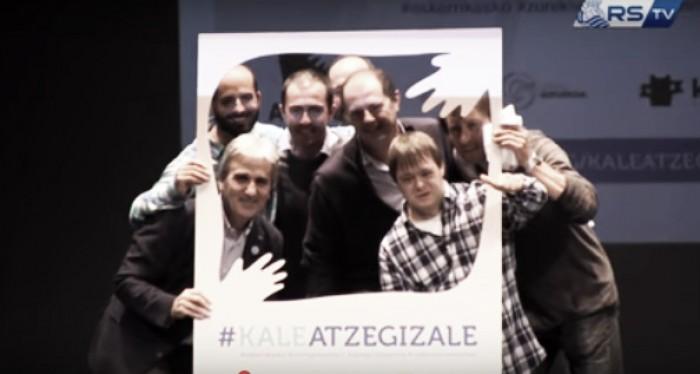 Reconocimiento de Atzegi a la Real Sociedad Fundazioa