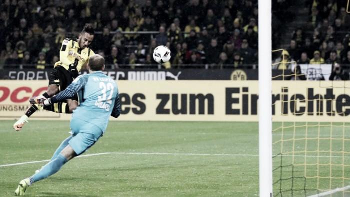 Borussia Dortmund controla e vence Leipzig com gol solitário de Aubameyang