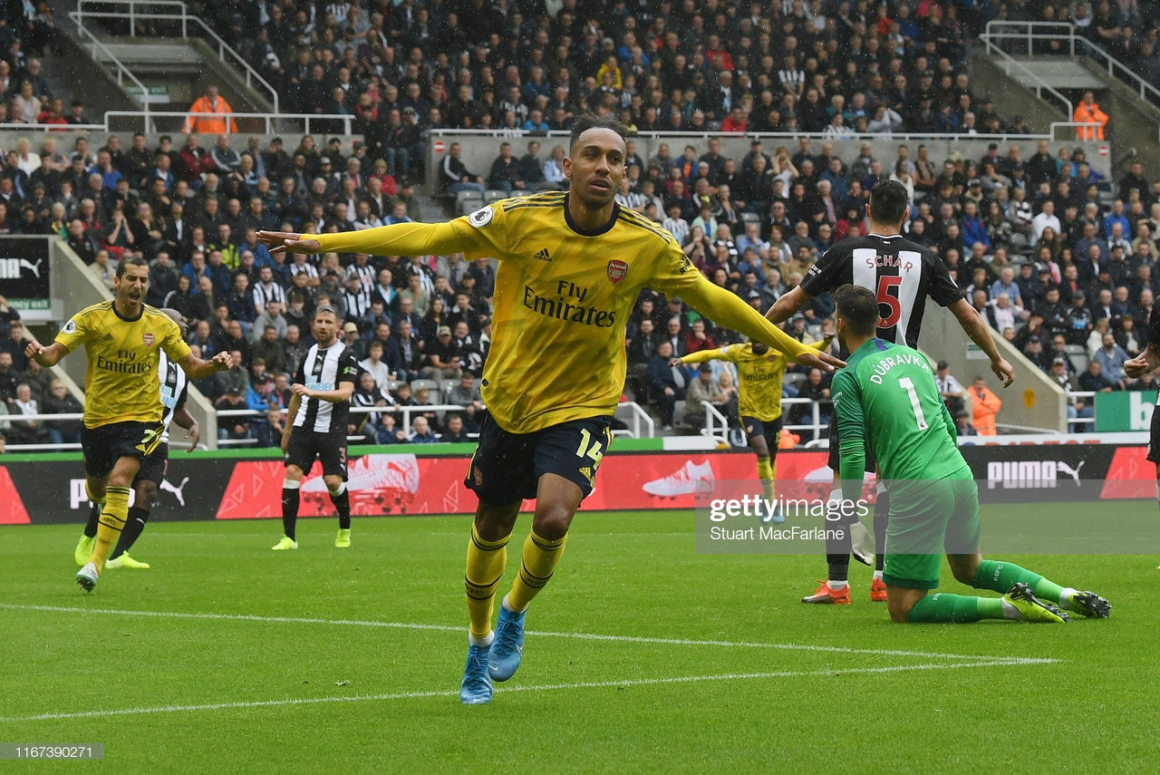 Newcastle United 0-1 Arsenal: Gunners take all three points in cagey affair on a dismal Tyneside