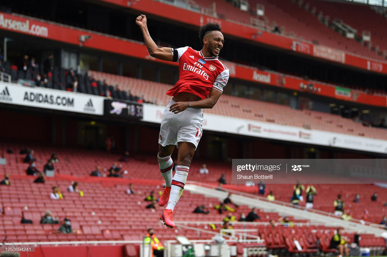 Aubameyang's importance to Mikel Arteta's Arsenal