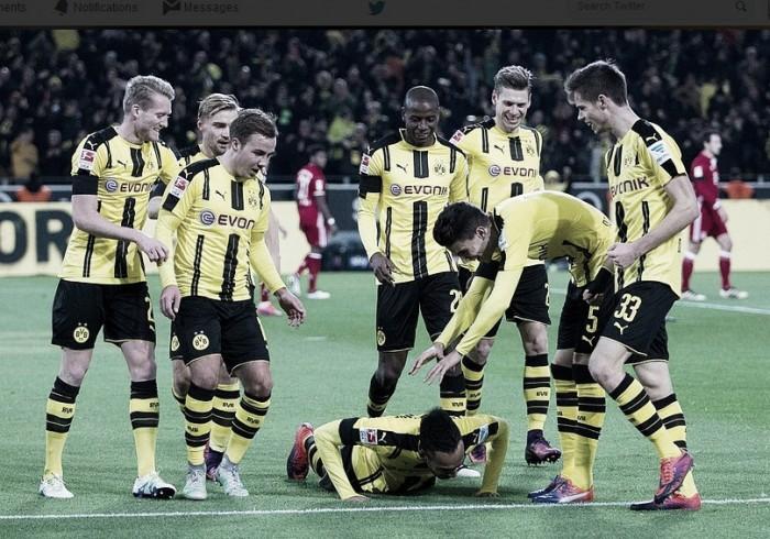 Aubameyang decide, Dortmund vence e encerra tabu contra Bayern