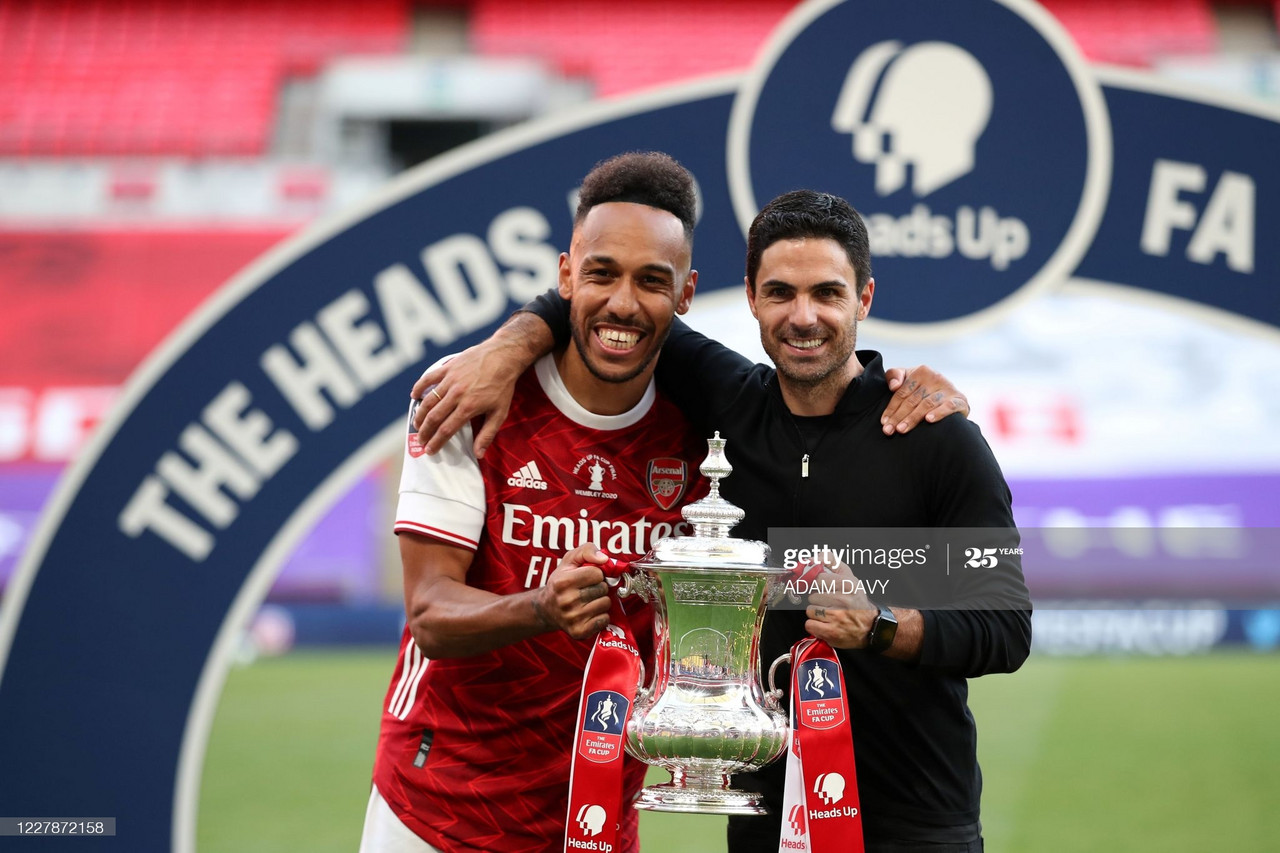 The chat with Mikel Arteta that determined Aubameyang's future
