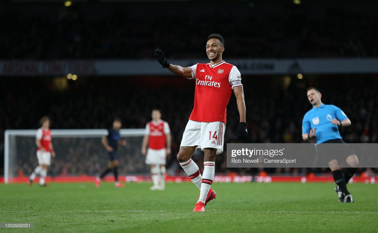 Arsenal boss Arteta hits back at Aubameyang critics