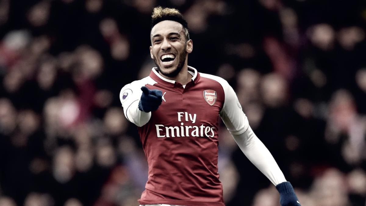 Pierre-Emerick Aubameyang rompe récord con Arsenal