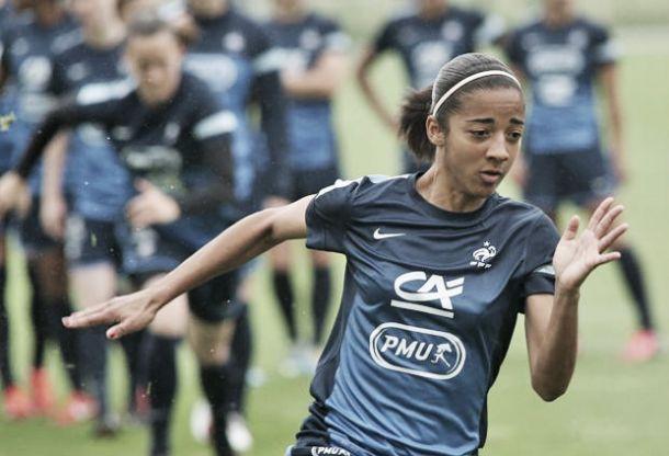 Aude Moreau au FCF Juvisy