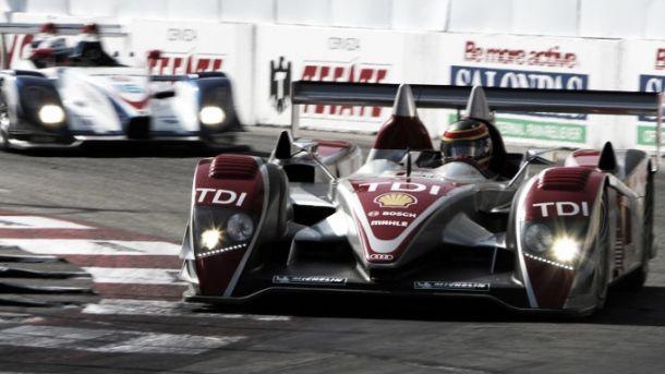 Etapa de 2008 da American Le Mans Series em Long Beach foi uma das mais emocionantes da história