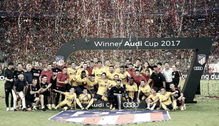 El Atleti se lleva la Audi Cup