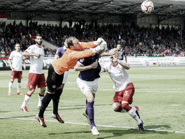 Erzgebirge Aue 0-0 1. FC Kaiserslautern: The Red Devils are held at relegation battlers Aue