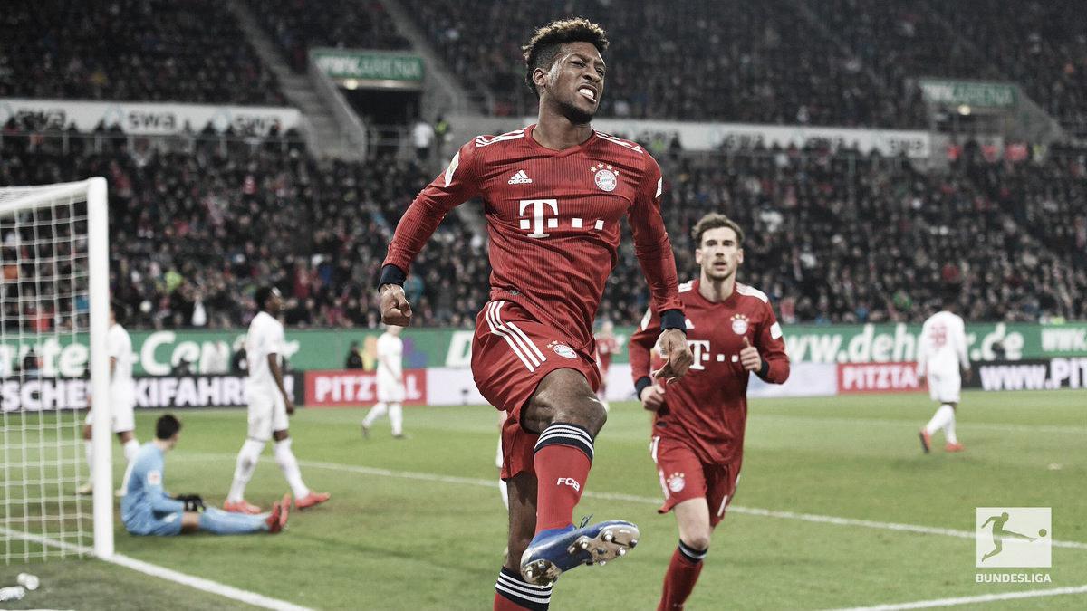 Bayern se recupera duas vezes e vence Augsburg de virada