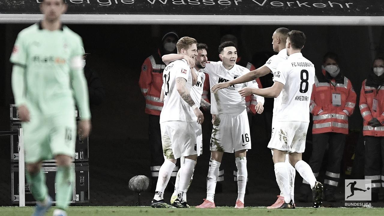 M'gladbach desperdiça chances e perde para Augsburg