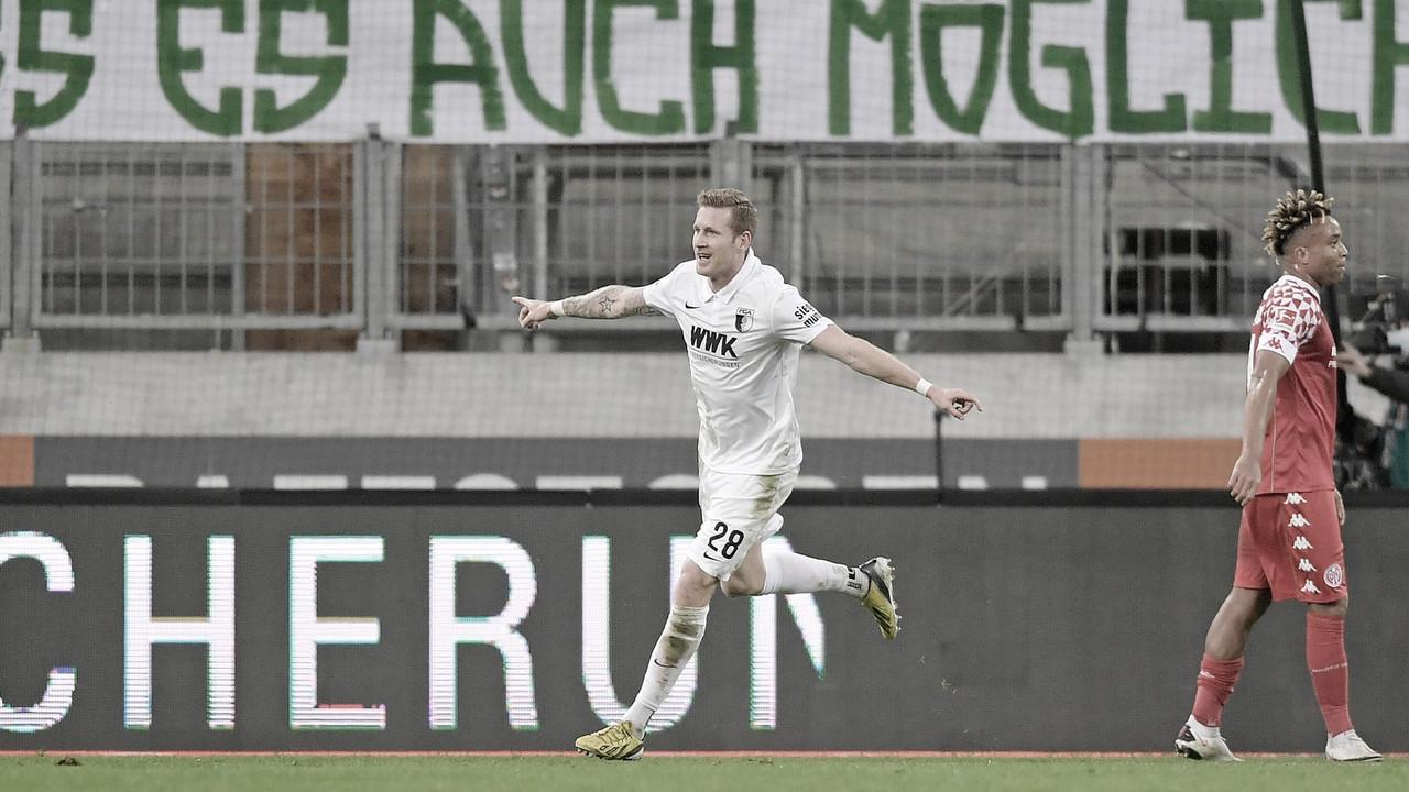 Técnico do Augsburg valoriza poder de reação após sofrer pressão e derrotar Mainz
