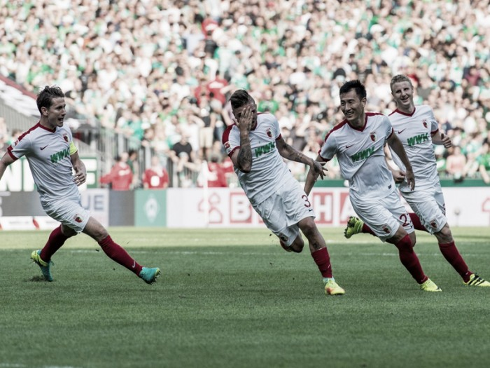 Werder Bremen 1-2 FC Augsburg: The visitors complete second half turnaround to take all three points