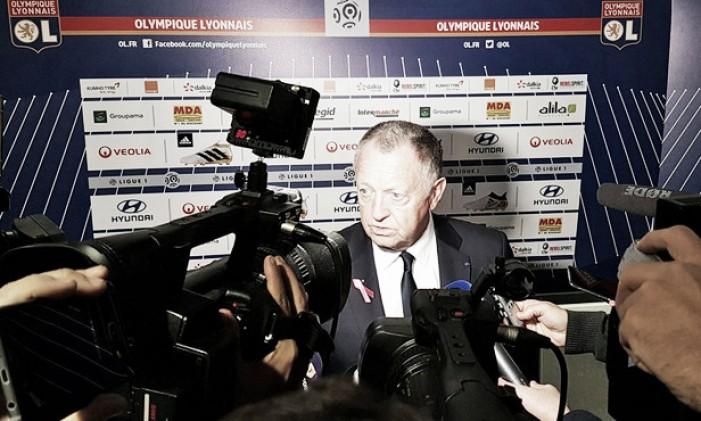 Em nono na tabela, presidente do Lyon diz que é 'inadmissível' atual momento da equipe