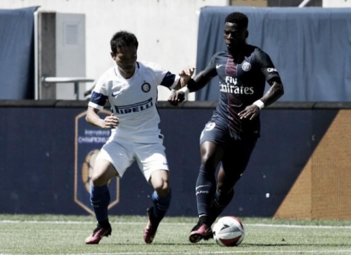 Aurier marca duas vezes e PSG supera Internazionale na International Champions Cup