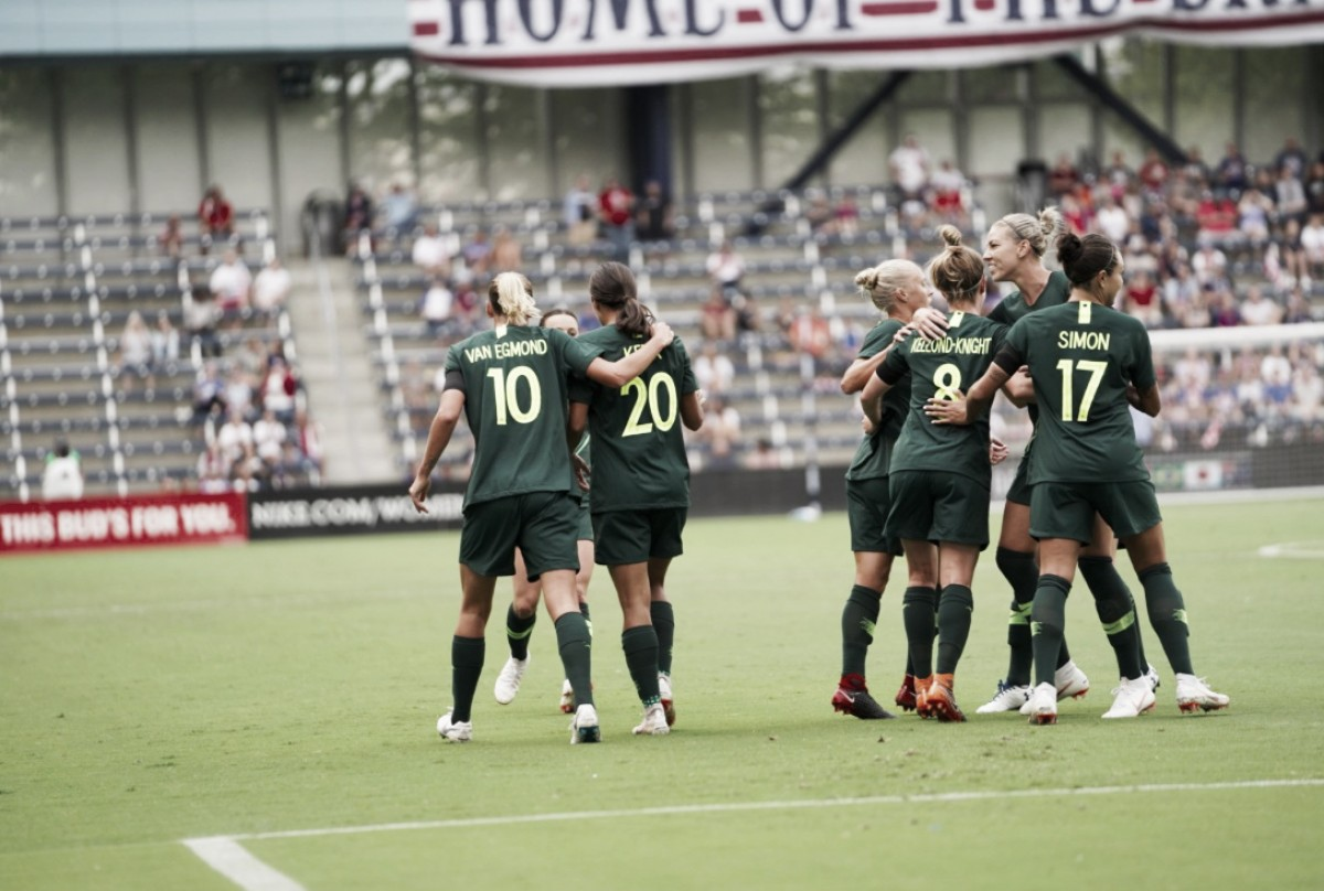 Australia defeats Brazil 3-1 to open the 2018 Tournament of Nations