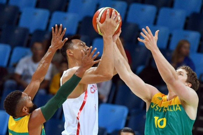 Rio 2016, Basket - L'Australia asfalta la Cina