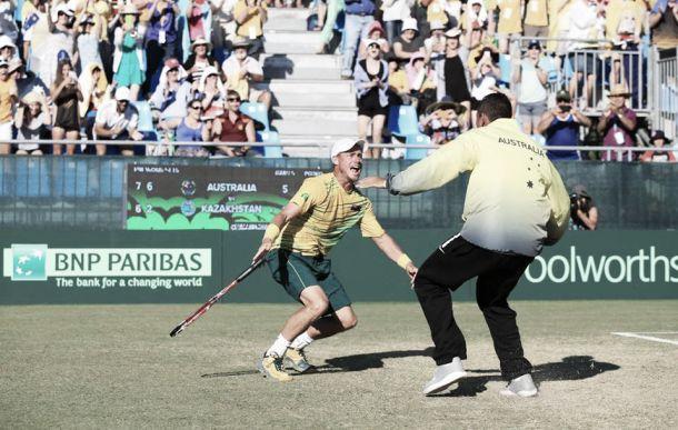 Coppa Davis, l'Australia rimonta e vola in semifinale. Murray fa fuori la Francia
