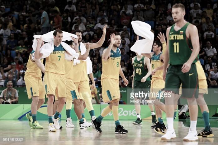 Australia aplastó a Lituania y es semifinalista