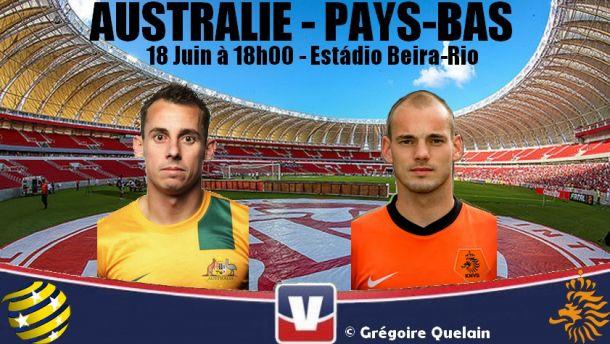 Les Pays-Bas affrontent l'Australie pour confirmer après leur gros succès face à l'Espagne