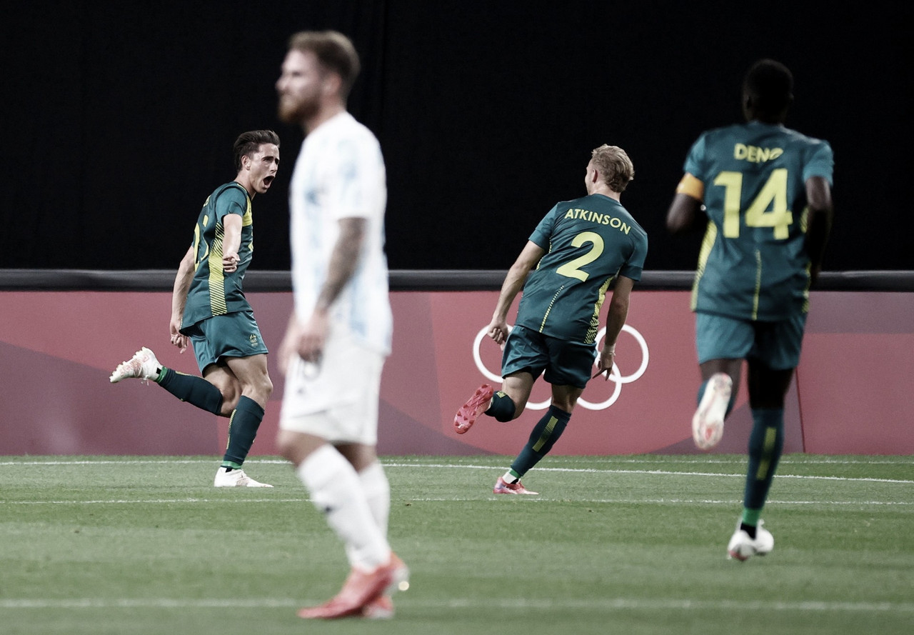 Argentina cae derrotada en su debut olímpico