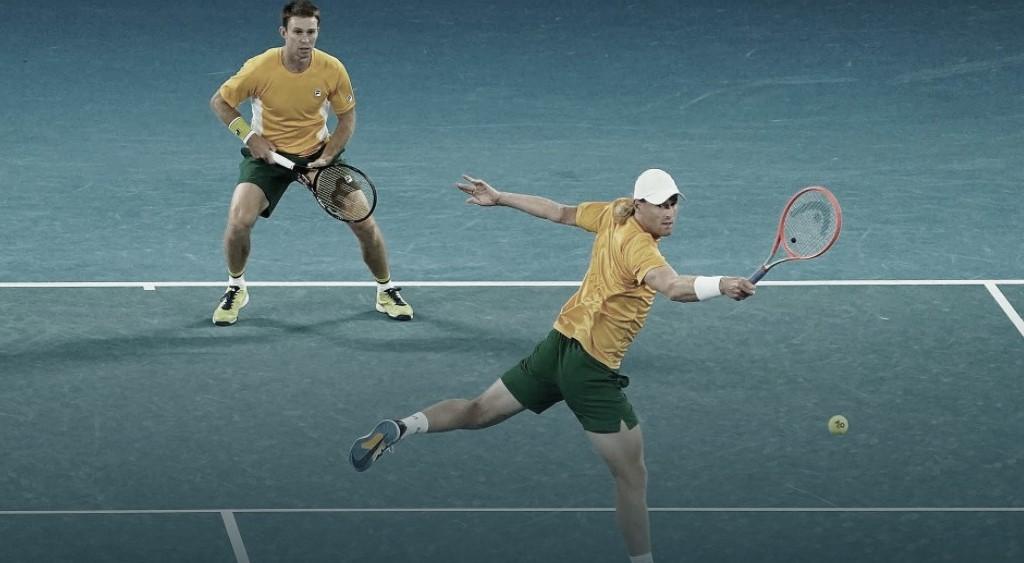 Austrália vence Grécia e se mantém viva na ATP Cup 2021