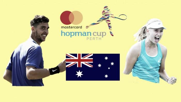 Hopman Cup: Thanasi Kokkinakis, Daria Gavrilova looks to bring glory to Australia