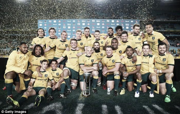 Rugby Championship: Australia va por bicampeonato