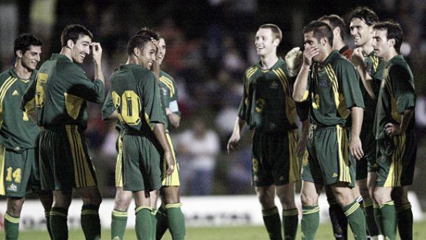 Australia - Samoa Americana (2001): la graduación australiana hacia nuevos destinos