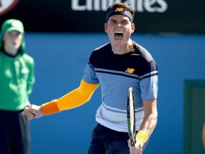 Australian Open: prima volta di Raonic in semifinale