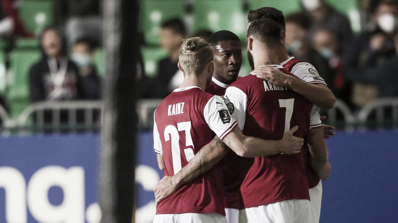 Gols e Melhores Momentos Israel x Áustria AO VIVO (5-2)