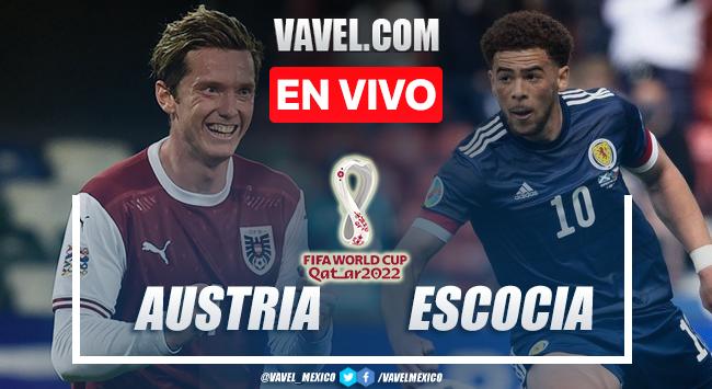 Gol y resumen del Austria 0-1 Escocia en Eliminatorias Qatar 2022