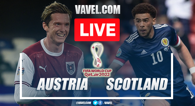 Goal and Highlights: Austria vs Scotland in 2022 World Cup Qualifiers