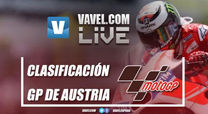 Resumen Clasificación GP Austria 2017 de MotoGP: Así lo vivimos