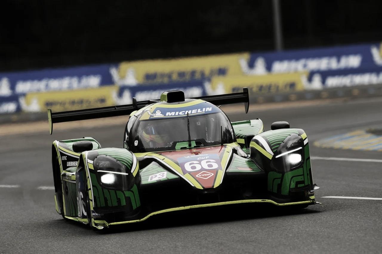 Nico Varrone se subió al podio de Le Mans