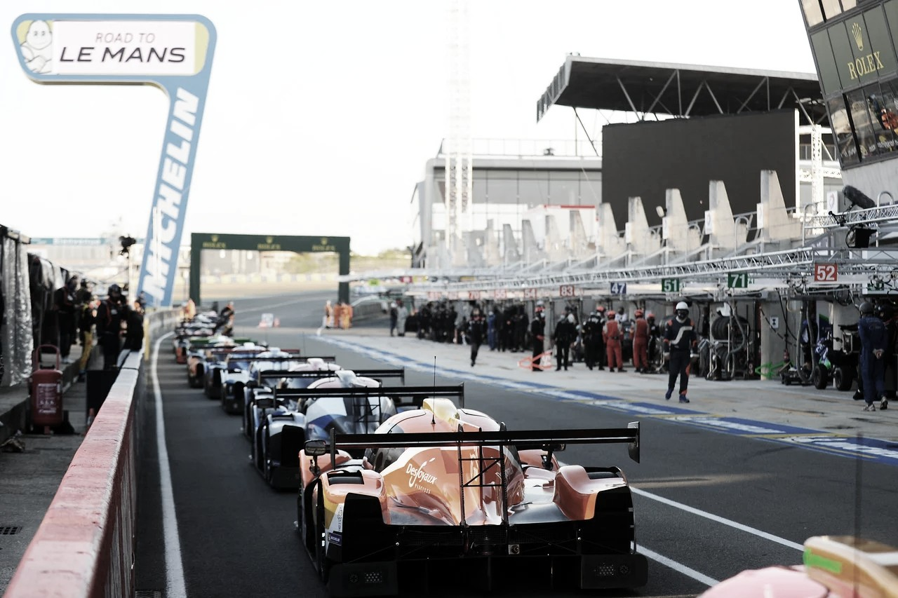 Nico Varrone ya se encuentra en Le Mans