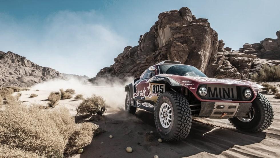El Rally Dakar llega a la mitad de su carrera