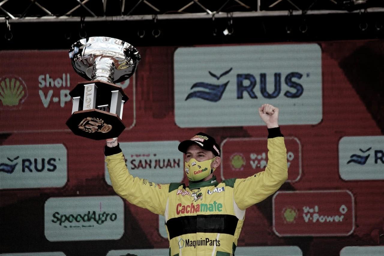Di Palma se subió a lo más alto del podio