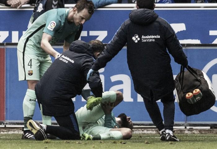 Barça, stagione finita per Aleix Vidal. Il Real si interroga sul modulo