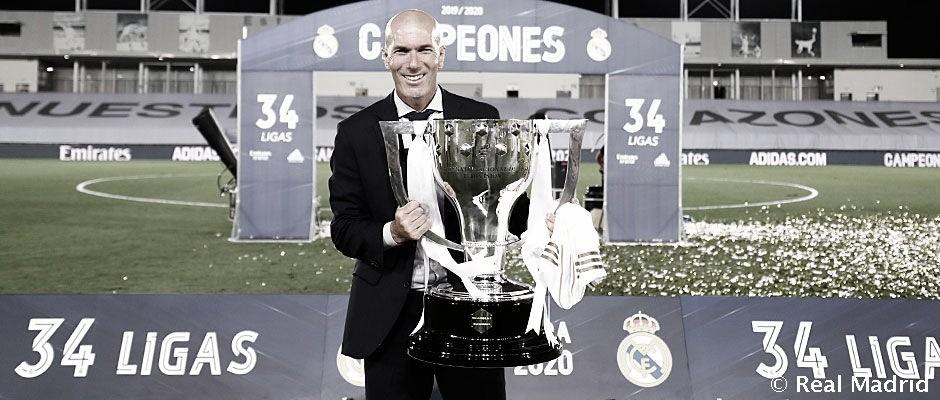 La afición madridista todavía confía en Zinedine Zidane | Foto: Real Madrid