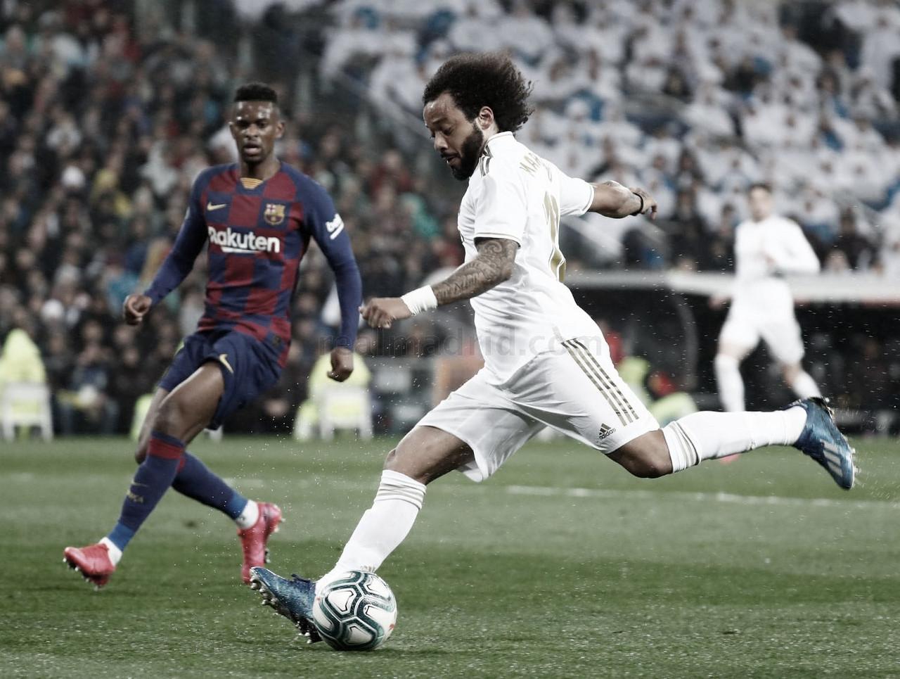 """Marcelo manifesta vontade de permanecer no Real Madrid: """"Tenho uma história incrível"""""""
